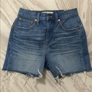 Madewell High-Rise Denim Shorts Sz 23